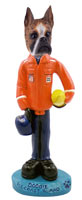 Boxer Brindle U.S. Coast Guard Doogie Collectable Figurine