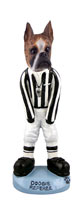 Boxer Brindle Referee Doogie Collectable Figurine