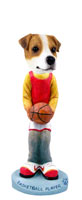 Jack Russell Terrier Basketball Doogie Collectable Figurine
