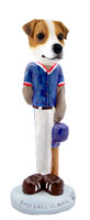 Jack Russell Terrier Baseball Doogie Collectable Figurine