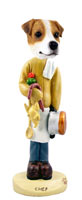 Jack Russell Terrier Chef Doogie Collectable Figurine