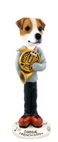 Jack Russell Terrier French Horn Doogie Collectable Figurine