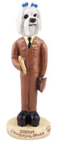 Maltese Commercial Driver Doogie Collectable Figurine