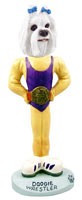 Maltese Wrestler Doogie Collectable Figurine