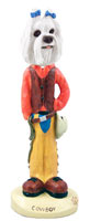 Maltese Cowboy Doogie Collectable Figurine