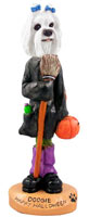 Maltese Happy Halloween Doogie Collectable Figurine