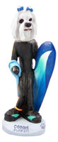 Maltese Surfer Doogie Collectable Figurine