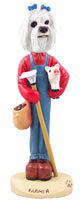 Maltese Farmer Doogie Collectable Figurine