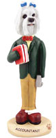 Maltese Accountant Doogie Collectable Figurine