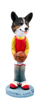 Welsh Corgi Cardigan Basketball Doogie Collectable Figurine