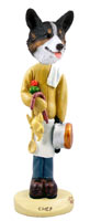 Welsh Corgi Cardigan Chef Doogie Collectable Figurine