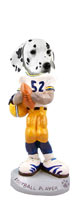 Dalmatian Football Player Doogie Collectable Figurine