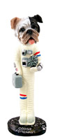 Bulldog Brindle Astronaut Doogie Collectable Figurine