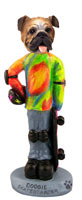 Bulldog Skateboarder Doogie Collectable Figurine