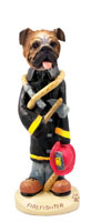 Bulldog Fireman Doogie Collectable Figurine