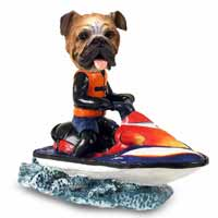 Bulldog Jet Ski Doogie Collectable Figurine