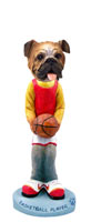 Bulldog Basketball Doogie Collectable Figurine