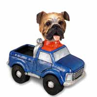 Bulldog Pickup Doogie Collectable Figurine