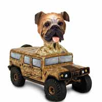 Bulldog Hummer Doogie Collectable Figurine