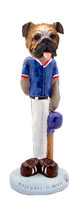 Bulldog Baseball Doogie Collectable Figurine