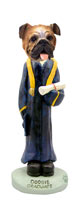 Bulldog Graduate Doogie Collectable Figurine