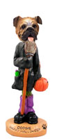 Bulldog Happy Halloween Doogie Collectable Figurine