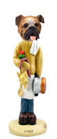 Bulldog Chef Doogie Collectable Figurine