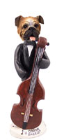 Bulldog Bassist Doogie Collectable Figurine