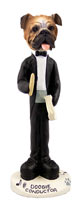 Bulldog Conductor Doogie Collectable Figurine