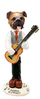 Bulldog Guitarist Doogie Collectable Figurine