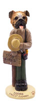 Bulldog Forest Ranger Doogie Collectable Figurine