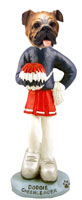 Bulldog Cheerleader Doogie Collectable Figurine