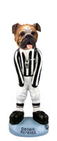 Bulldog Referee Doogie Collectable Figurine