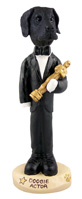 Great Dane Black w/Uncropped Ears Actor Doogie Collectable Figurine