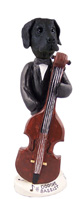 Great Dane Black w/Uncropped Ears Bassist Doogie Collectable Figurine