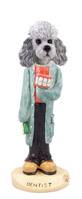 Poodle Gray w/Sport Cut Dentist Doogie Collectable Figurine