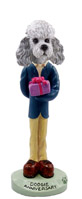 Poodle Gray w/Sport Cut Anniversary Doogie Collectable Figurine