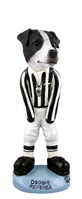 Jack Russell Terrier Black & White w/Smooth Coat Referee Doogie Collectable Figurine