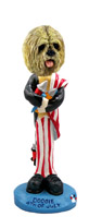 Lhasa Apso Blonde 4th of July Doogie Collectable Figurine