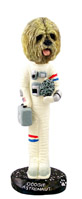 Lhasa Apso Blonde Astronaut Doogie Collectable Figurine