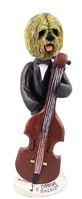 Lhasa Apso Blonde Bassist Doogie Collectable Figurine