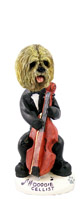 Lhasa Apso Blonde Cellist Doogie Collectable Figurine