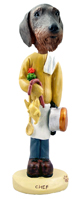 Wire Haired Dachshund Chef Doogie Collectable Figurine