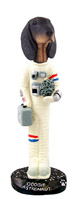 Coonhound Black & Tan Astronaut Doogie Collectable Figurine