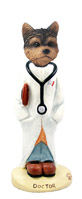 Yorkshire Terrier Puppy Cut Doctor Doogie Collectable Figurine