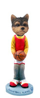 Yorkshire Terrier Puppy Cut Basketball Doogie Collectable Figurine
