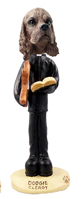 Cocker Spaniel Brown Clergy Doogie Collectable Figurine