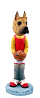 Great Dane Fawn Basketball Doogie Collectable Figurine