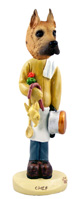 Great Dane Fawn Chef Doogie Collectable Figurine