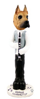 Great Dane Fawn Clarinetist Doogie Collectable Figurine